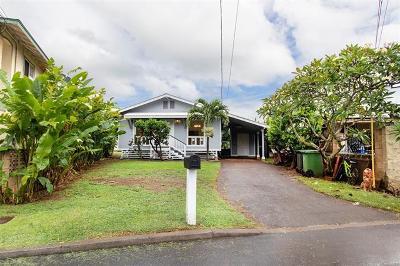 Waialua Single Family Home For Sale: 66-950 Alena Loop