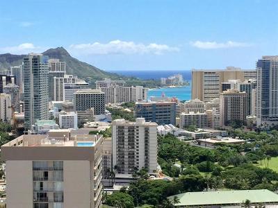 Honolulu County Condo/Townhouse For Sale: 1837 Kalakaua Avenue #PH 3501