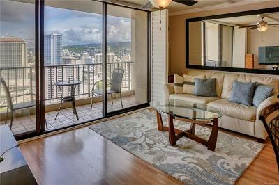 Honolulu Condo/Townhouse For Sale: 411 Hobron Lane #3206