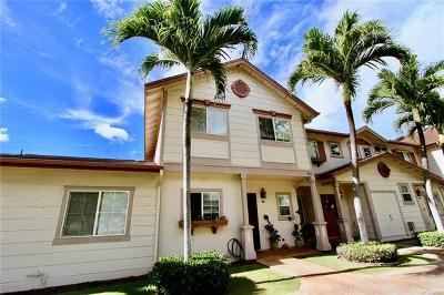 Ewa Beach Condo/Townhouse For Sale: 91-1026 Kaimalie Street #Q2