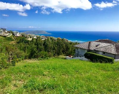 Honolulu County Residential Lots & Land For Sale: 2027 Kuola Place