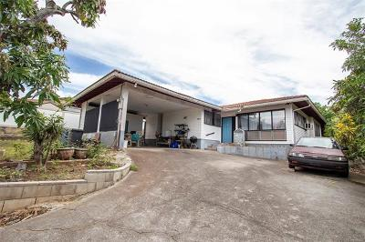 Honolulu Single Family Home For Sale: 1355 Ala Napunani Street