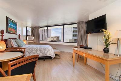 Honolulu Condo/Townhouse For Sale: 1700 Ala Moana Boulevard #1202