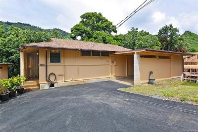 Honolulu Single Family Home For Sale: 2138f 10th Avenue #2138F