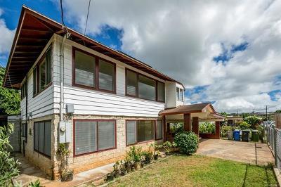 Waipahu Single Family Home For Sale: 94-980 Awanani Street