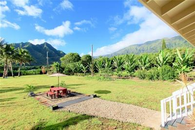 Hauula Single Family Home For Sale: 53-378 Kamehameha Highway #A