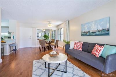 Honolulu HI Condo/Townhouse For Sale: $498,000