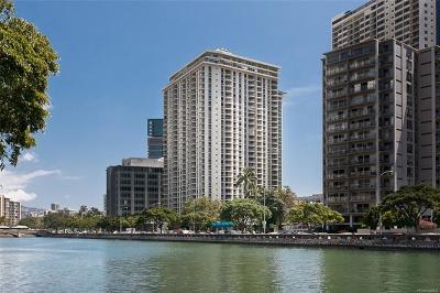 Hawaii County, Honolulu County Condo/Townhouse For Sale: 1717 Ala Wai Boulevard #2202