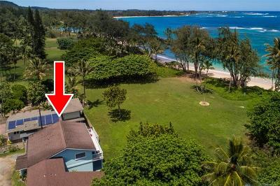 Laie Single Family Home In Escrow Showing: 55-7 Kamehameha Highway #A