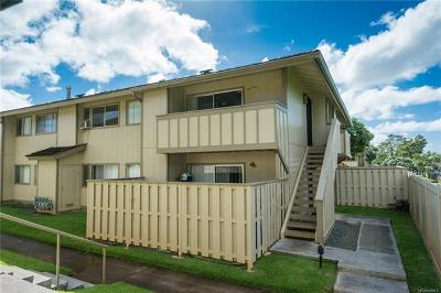 Waipahu Condo/Townhouse For Sale: 94-1139 Mopua Loop #J8