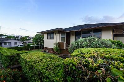 Pearl City Single Family Home For Sale: 705 Hoomoe Street