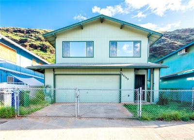 Honolulu County Single Family Home For Sale: 86-155 Leihoku Street
