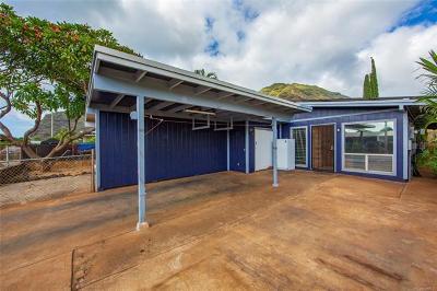 Honolulu County Single Family Home For Sale: 84-644a Kepue Street