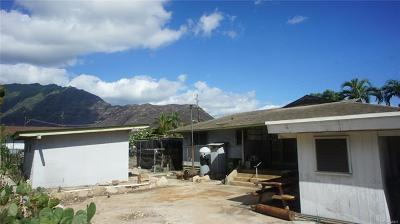 Waianae Single Family Home For Sale: 84-126 Jade Street