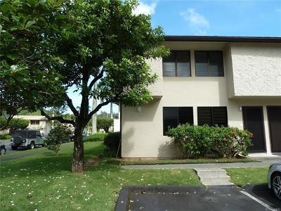 Kaneohe Condo/Townhouse For Sale: 47-402 Hui Iwa Street #1
