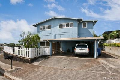 Pearl City Single Family Home For Sale: 1668 Hoolana Street
