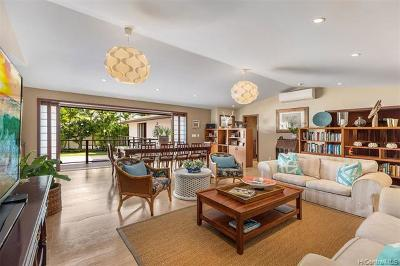 Honolulu HI Single Family Home For Sale: $2,995,000