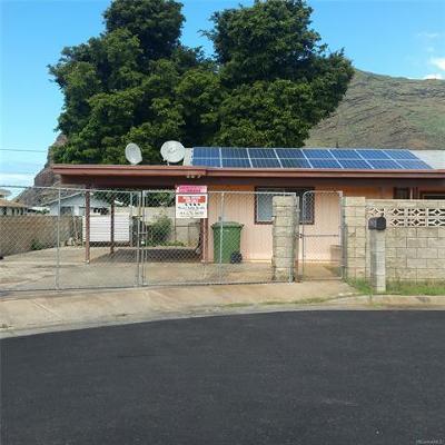 Waianae Single Family Home In Escrow Showing: 84-128 Kapakai Place