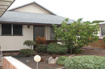 Single Family Home For Sale: 1460 Kuahaka Street