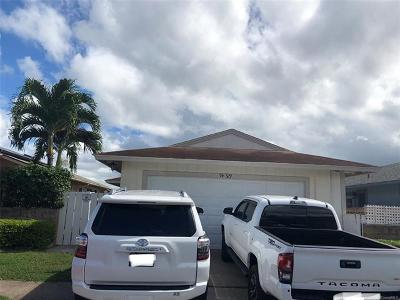 Single Family Home For Sale: 94-529 Palai Street