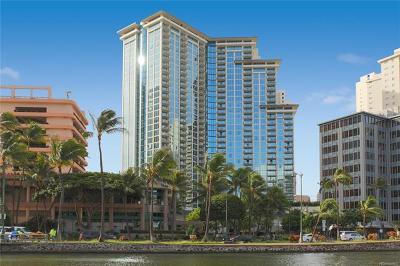 Honolulu County Condo/Townhouse For Sale: 1837 Kalakaua Avenue #2110