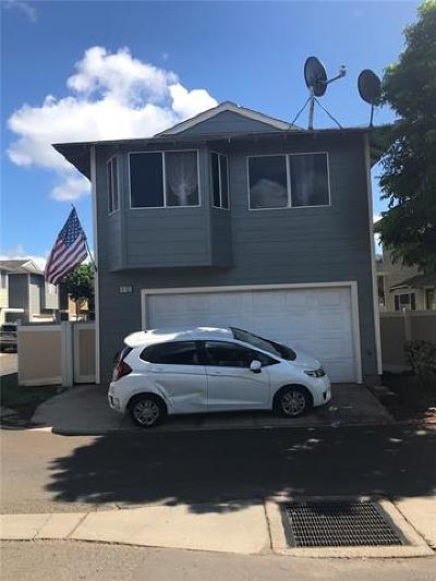 Single Family Home For Sale: 91-1033 Hoomaka Street