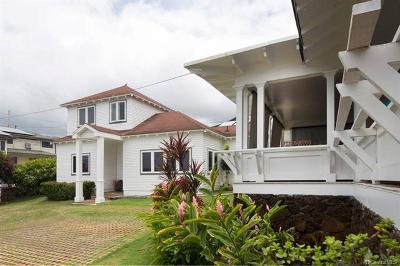 Honolulu Single Family Home For Sale: 1305 Center Street