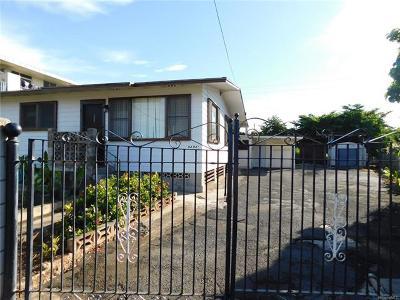 Waipahu Single Family Home For Sale: 94-941 Awanei Street