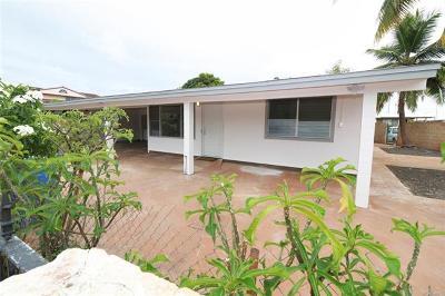 Ewa Beach Single Family Home In Escrow Showing: 91-838 Kehue Street