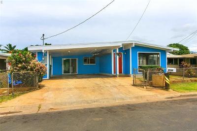 Waianae Single Family Home In Escrow Showing: 87-210 Maaloa Street
