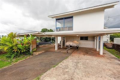 Aiea Single Family Home For Sale: 99-969 Lalawai Drive