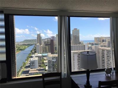 Honolulu Condo/Townhouse For Sale: 444 Niu Street #2804