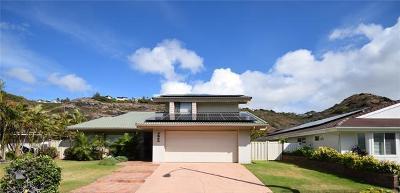 Honolulu, Kailua, Waimanalo, Honolulu, Kaneohe Single Family Home For Sale: 7214 Kuaehu Street