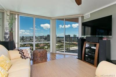 Honolulu, Kailua, Waimanalo, Honolulu, Kaneohe Condo/Townhouse For Sale: 801 S King Street #3710