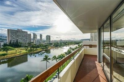 Condo/Townhouse For Sale: 2029 Ala Wai Boulevard #802