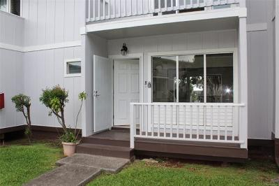 Aiea Condo/Townhouse For Sale: 98-869 Iho Place #B