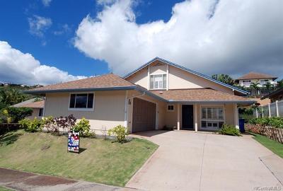 Kapolei Single Family Home For Sale: 92-308 Kewai Place