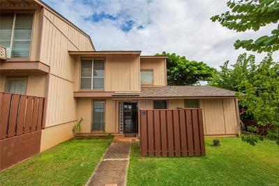 kapolei Condo/Townhouse For Sale: 92-1014 Makakilo Drive #41