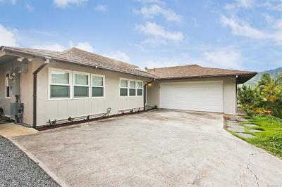 Single Family Home In Escrow Showing: 7841 Hawaii Kai Drive