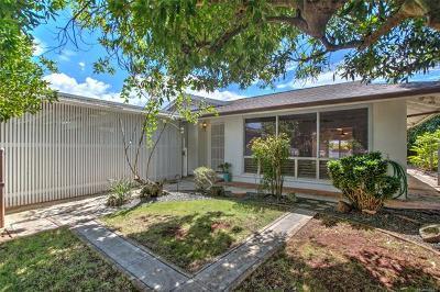 Single Family Home For Sale: 1378 Kaweloka Street