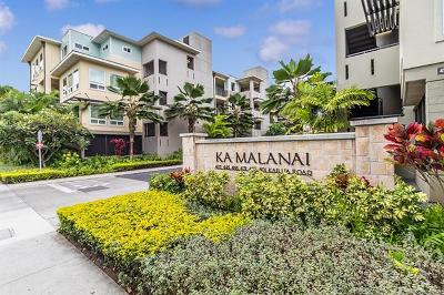 Kailua Condo/Townhouse For Sale: 445 Kailua Road #5105