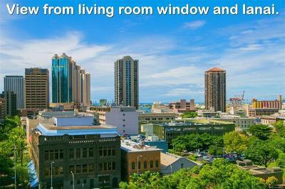 Honolulu Condo/Townhouse For Sale: 55 S Kukui Street #D1002