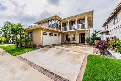 Ewa Beach Single Family Home For Sale: 91-1072 Waikapuna Street