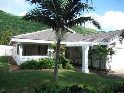 Single Family Home For Sale: 769 Kealahou Street