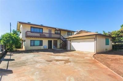 Waianae HI Single Family Home For Sale: $650,000