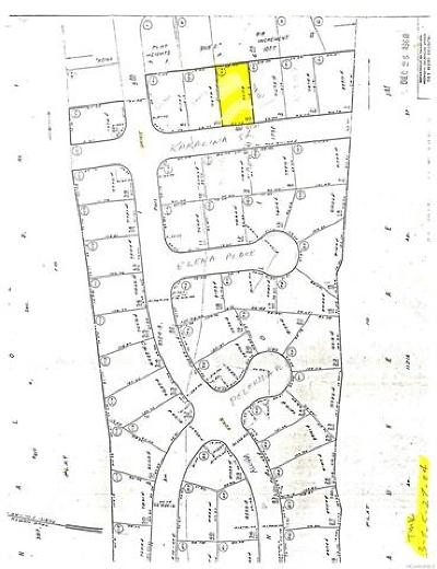 Kailua Residential Lots & Land For Sale: 75-5783 Kakalina Street