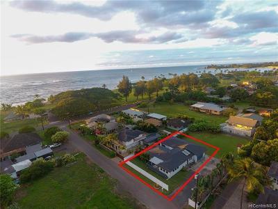 Haleiwa Single Family Home For Sale: 66-130 Walikanahele Road