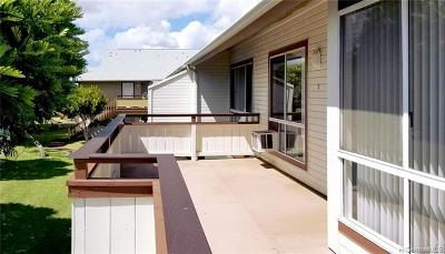 Ewa Beach Rental For Rent: 91-490 Puamaeole Street #46T