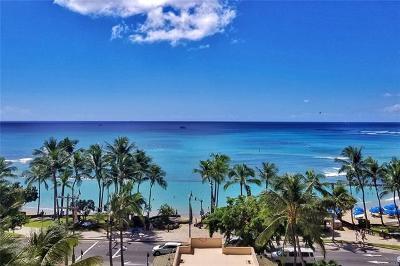 Hawaii County, Honolulu County Condo/Townhouse For Sale: 2470 Kalakaua Avenue #701