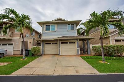 Ewa Beach Single Family Home For Sale: 91-1099 Kanela Street #T-6